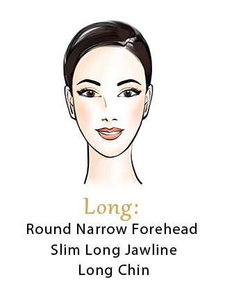 Long Face Shape Characteristics