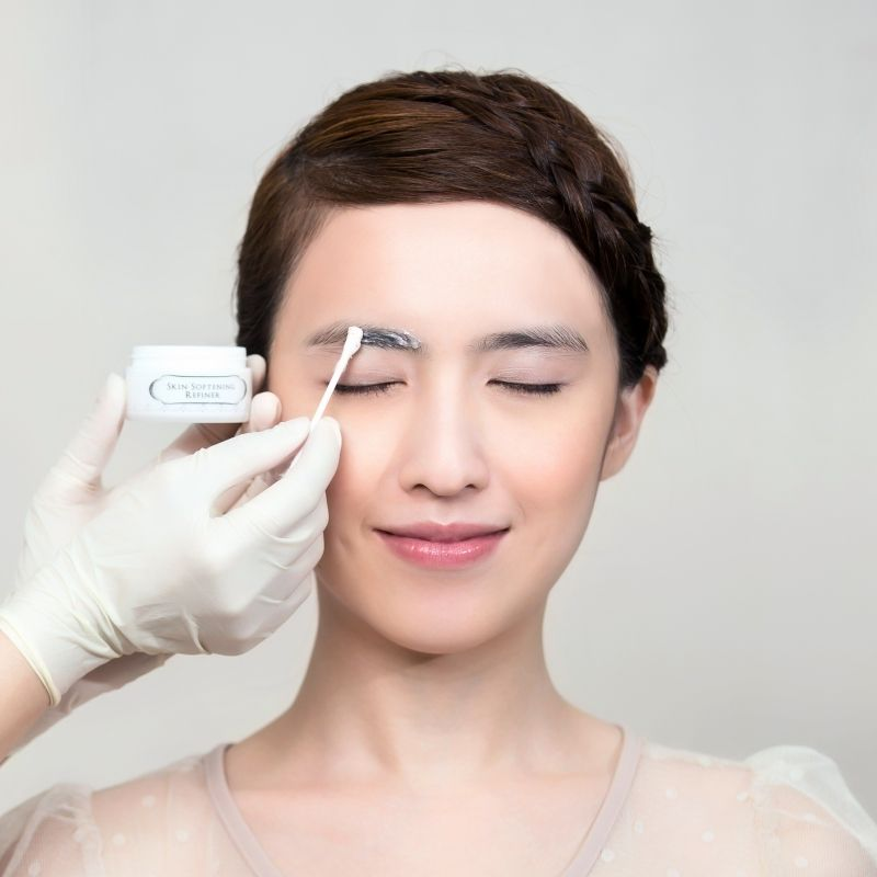 Erabelle Erabrowlogy Process - Brow Prep Mask