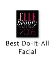 Erabelle Elle Best Do-It-All Facial 2016 award