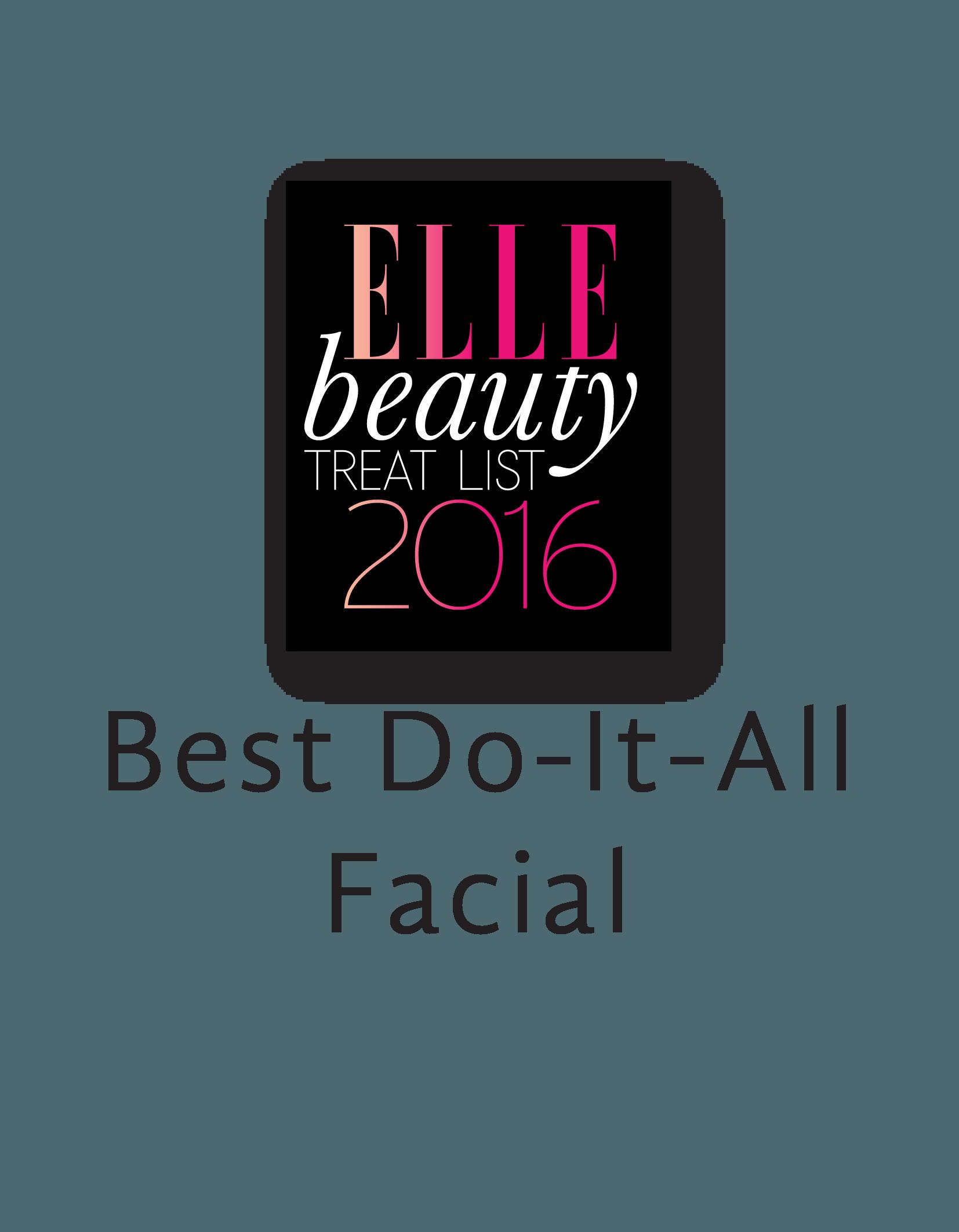 ELLE_Best Do-It-All Facial 2016