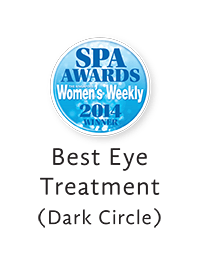 Erabelle Singapore Women's Weekly Best Eye Treatment 2014 award