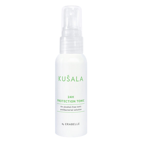 Kusala 25H Protection Tonic - an alcohol-free ionic antibacterial solution by Erabelle