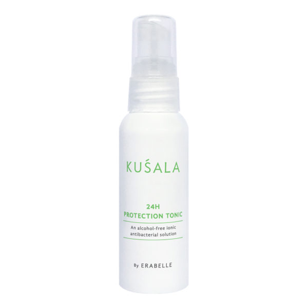 Kusala 24 Hour protection tonic by erabelle an antibacterial solution that comes in spray bottle