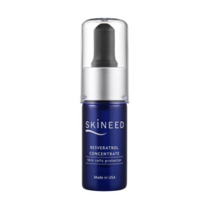 Skineed's Resveratrol Concentrate as skin cells protector. Made in USA.