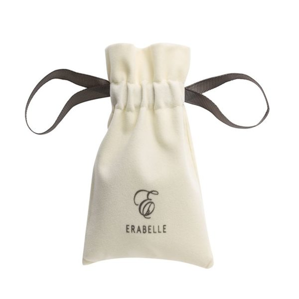 Erabelle's drawstring pouch for eyebrow sharpener