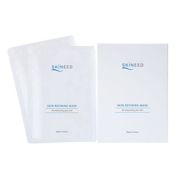 Erabelle's Skineed Skin Refining Masks that re-texturises your skin. Made in Taiwan