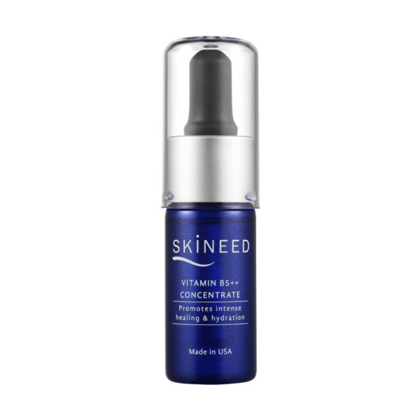 Skineed's Vitamin B5++ Concetrate to promote intense hydration and healing. Made in USA