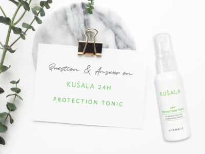 Questions and answers on Kusala 24 hours protection tonic blog banner