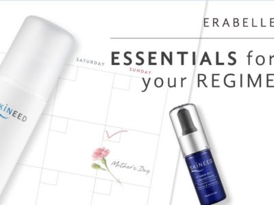 Erabelle's May offer for Mother's day featuring skincare essentials for your regime with Skineed products
